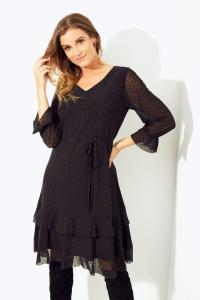 KASKADA FW 2020 Sukienka LAZULI czarna